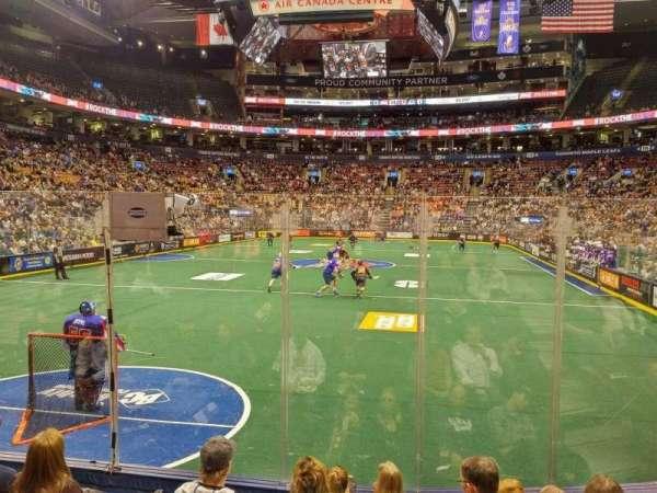 Scotiabank Arena, secção: 102, fila: 10, lugar: 6