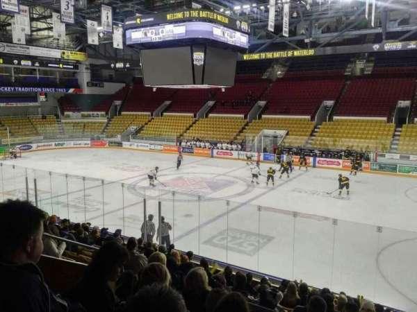 Kitchener Memorial Auditorium, secção: 8, fila: L, lugar: 8