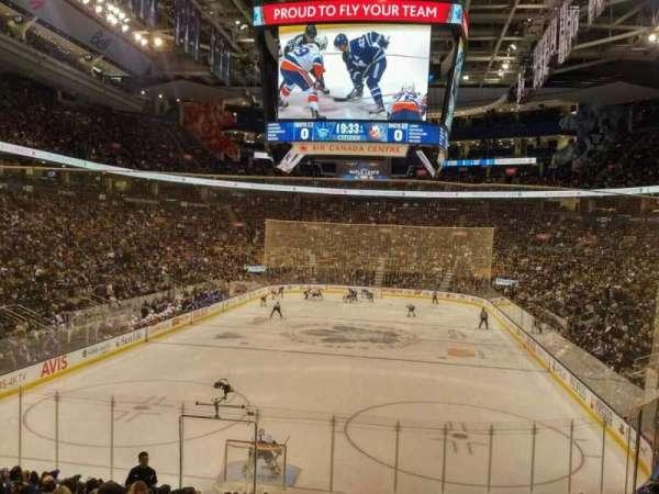Scotiabank Arena, secção: 113, fila: 21, lugar: 10