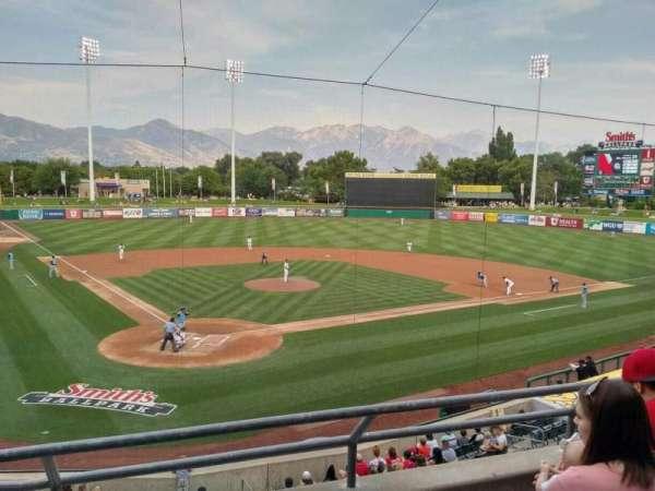 Smith's Ballpark, secção: 108, fila: 3, lugar: 7