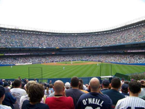 Old Yankee Stadium, secção: 51, fila: U, lugar: 3