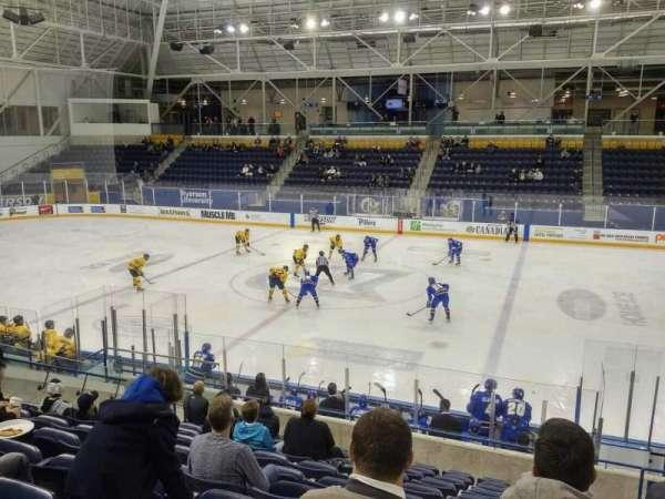 Mattamy Athletic Centre at the Gardens, secção: E5, fila: L, lugar: 4