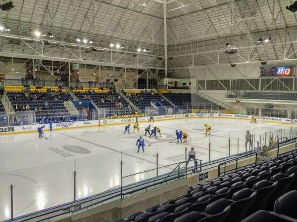 Mattamy Athletic Centre at the Gardens, secção: W6, fila: K, lugar: 21