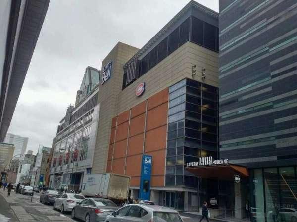 Centre Bell, secção: exterior