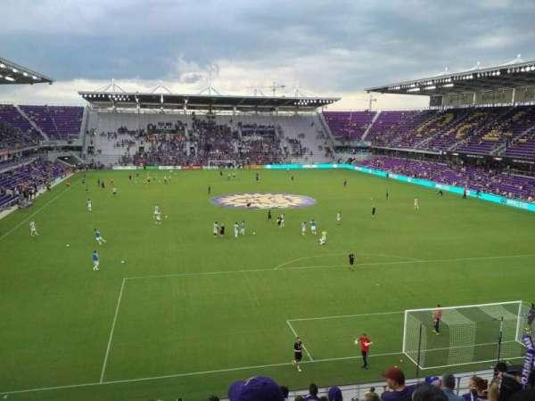 Exploria Stadium, secção: 105, fila: L, lugar: 19