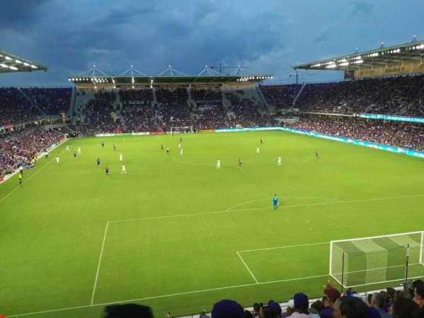 Orlando City Stadium, secção: 105, fila: L, lugar: 19