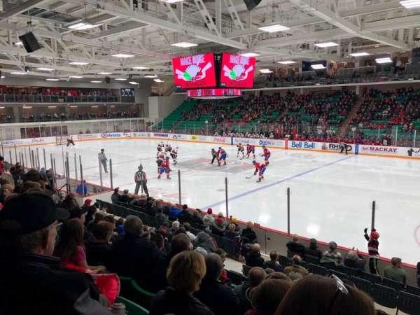 CAA Arena, secção: 106, fila: 12, lugar: 8