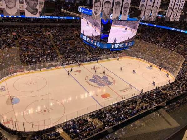 Scotiabank Arena, secção: 311, fila: 1, lugar: 13