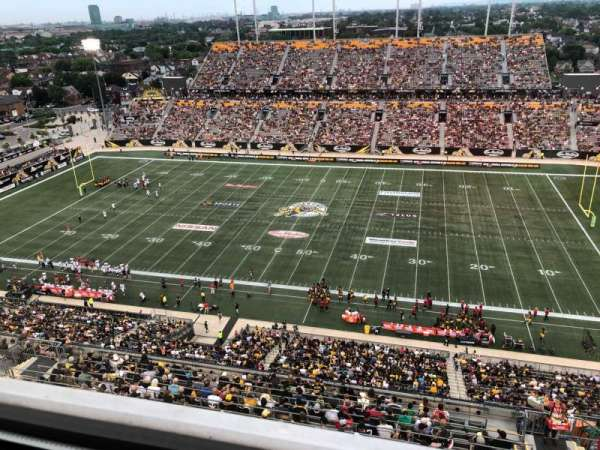 Tim Hortons Field, secção: Press Box