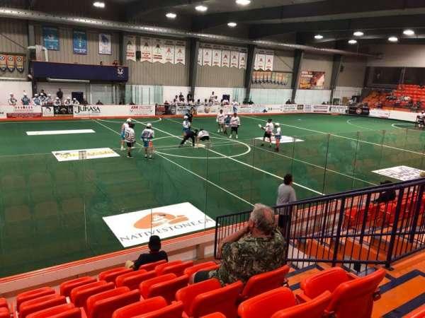 Iroquois Lacrosse Arena, secção: I, fila: G, lugar: 5