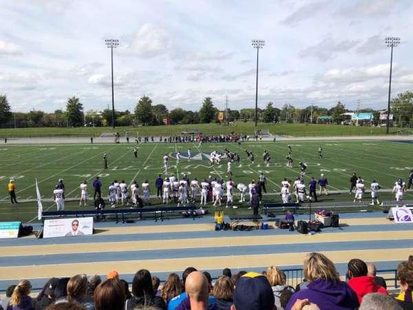Alumni Field at University of Windsor Stadium, secção: F, fila: JJ, lugar: 5