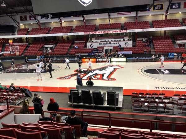 Matthews Arena, secção: 7, fila: J, lugar: 9