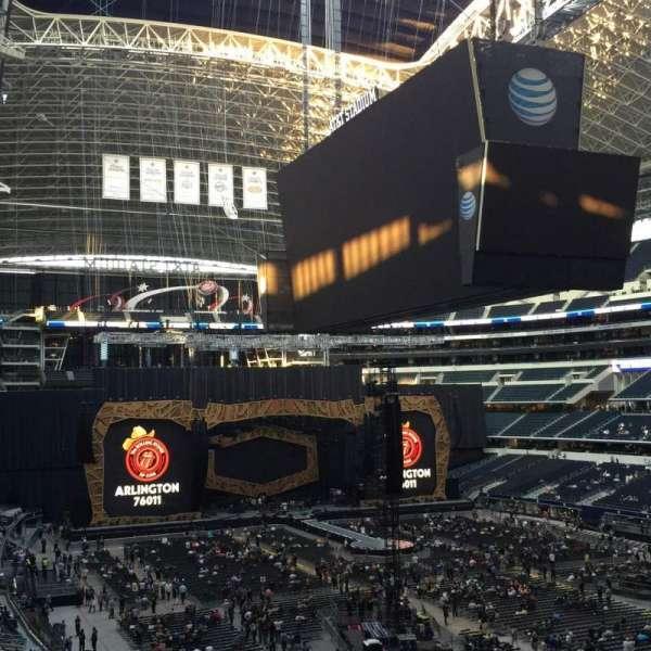 AT&T Stadium, secção: 327, fila: 1, lugar: 35