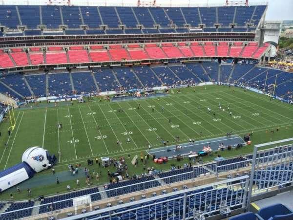 Nissan Stadium, secção: 338, fila: K, lugar: 5