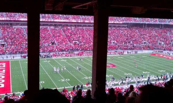Ohio Stadium, secção: 24B, fila: 9, lugar: 29