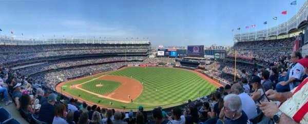 Yankee Stadium, secção: 313, fila: 8, lugar: 9