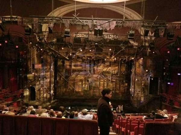 Broadway Theatre - 53rd Street, secção: Rear Mezzanine C, fila: B, lugar: 107