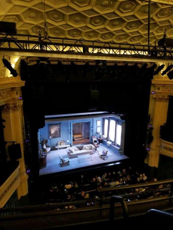 Hudson Theatre, secção: Balcony L, fila: C, lugar: 1