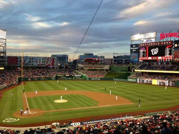 Nationals Park, secção: 217, fila: H, lugar: 15