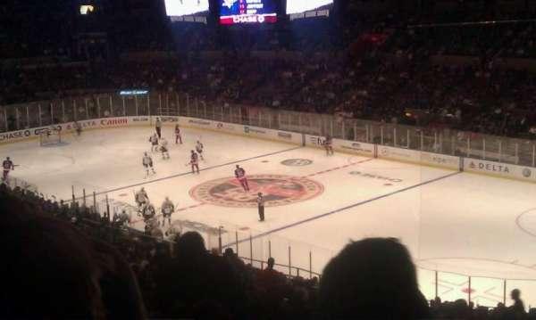 Madison Square Garden, secção: 328, fila: j, lugar: 5