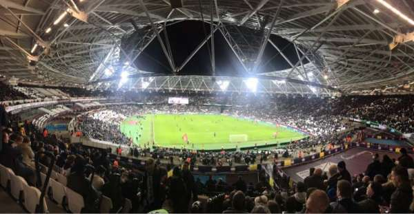 London Stadium, secção: 219, fila: 51, lugar: 83