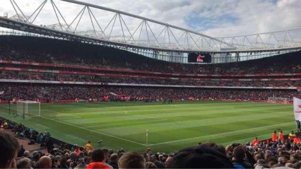 Emirates Stadium, secção: 21, fila: 24, lugar: 647
