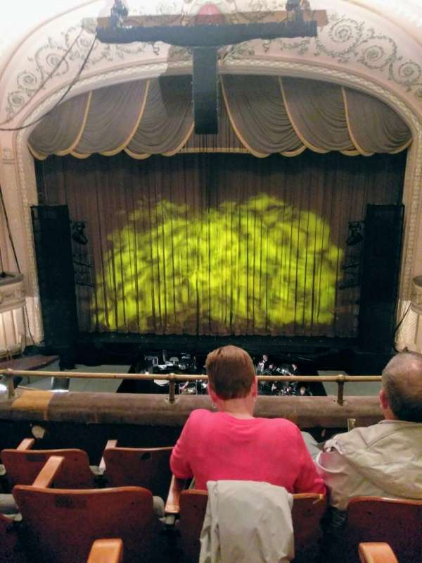 Merriam Theater, secção: Balcony, fila: D, lugar: 105