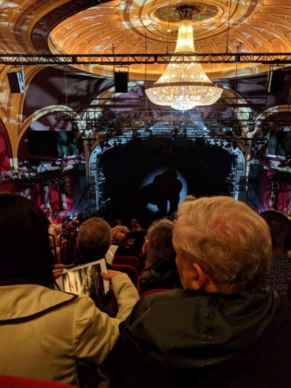Broadway Theatre - 53rd Street, secção: Rear Mezzanine RC, fila: L, lugar: 103