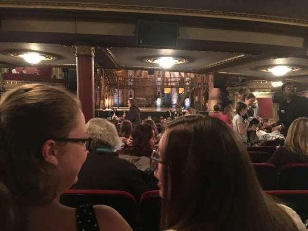CIBC Theatre, secção: Orchestra R, fila: ZZ, lugar: 118