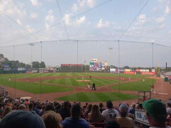 Veterans Memorial Stadium (Cedar Rapids), secção: 112, fila: Q, lugar: 2