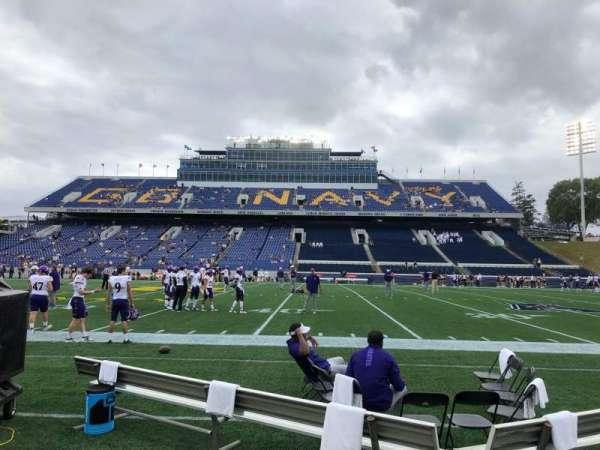 Navy-Marine Corps Memorial Stadium, secção: 28, fila: A, lugar: 19