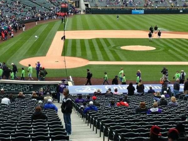 Coors Field, secção: 126