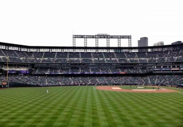 Coors Field, secção: 150