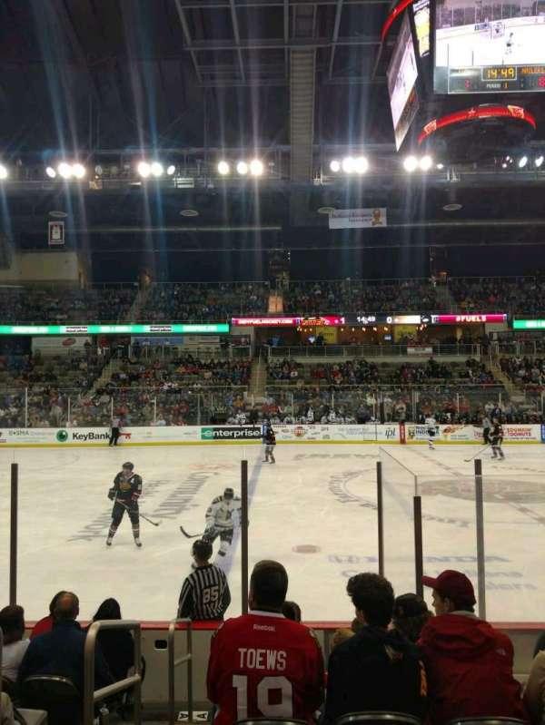 Indiana Farmers Coliseum, secção: 200, fila: A, lugar: 26