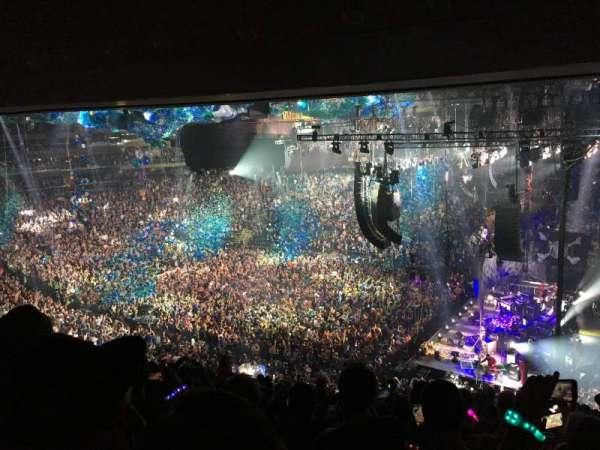 Madison Square Garden, secção: 214, fila: 12, lugar: 12