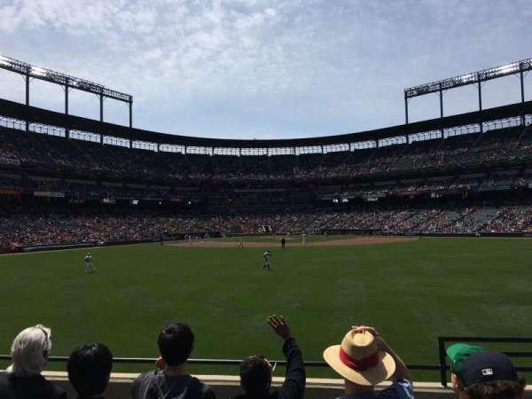 Oriole Park at Camden Yards, secção: 92, fila: 5, lugar: 2