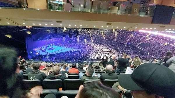 Madison Square Garden, secção: 223, fila: 19, lugar: 15
