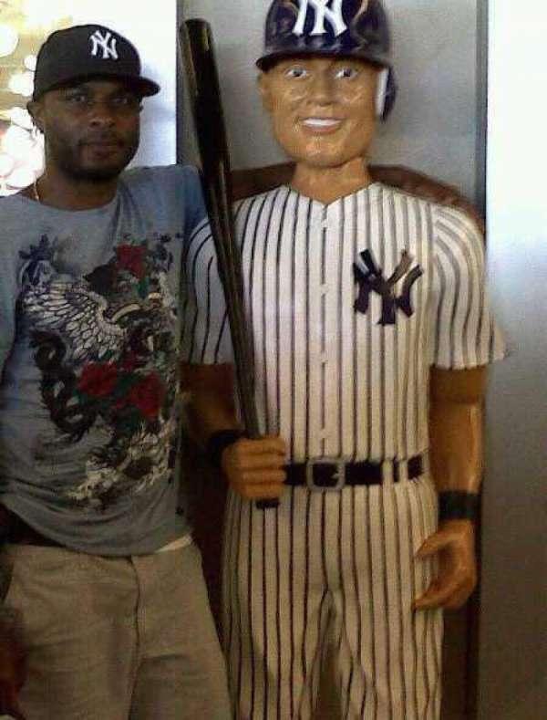 Yankee Stadium, secção: Steinbrenner, fila: Store
