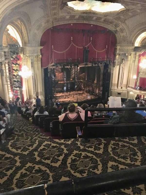 Citizens Bank Opera House, secção: Balcony L, fila: P, lugar: 43