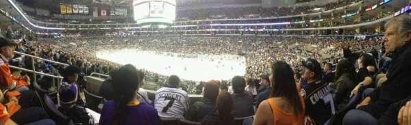 Staples Center, secção: PR11, fila: 8, lugar: 9