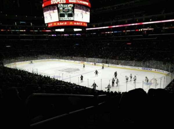 Staples Center, secção: PR1, fila: 9, lugar: 14