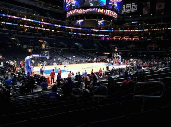 Staples Center, secção: 104, fila: 15, lugar: 6