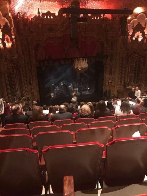 Ohio Theatre (Columbus), secção: MEZZD, fila: M, lugar: 25