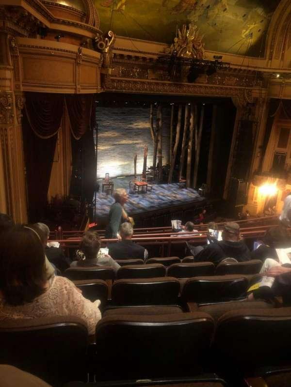Hippodrome Theatre, secção: LMBAl, fila: J, lugar: 231