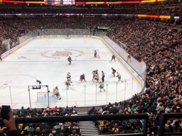 Honda Center, secção: 326, fila: B, lugar: 11