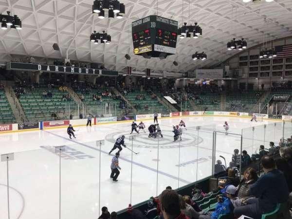 Thompson Arena, secção: 5, fila: H, lugar: 1
