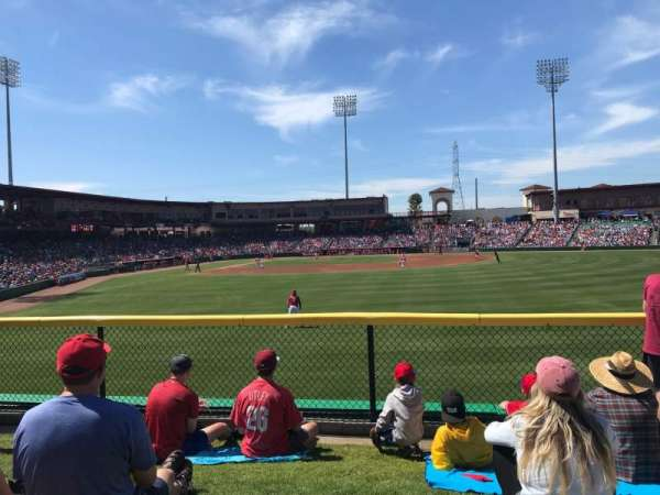 BayCare Ballpark, secção: Berm