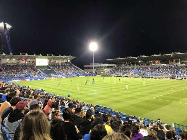 Saputo Stadium, secção: 119, fila: T, lugar: 2