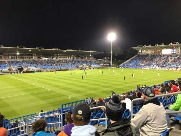 Saputo Stadium, secção: 127, fila: S, lugar: 6