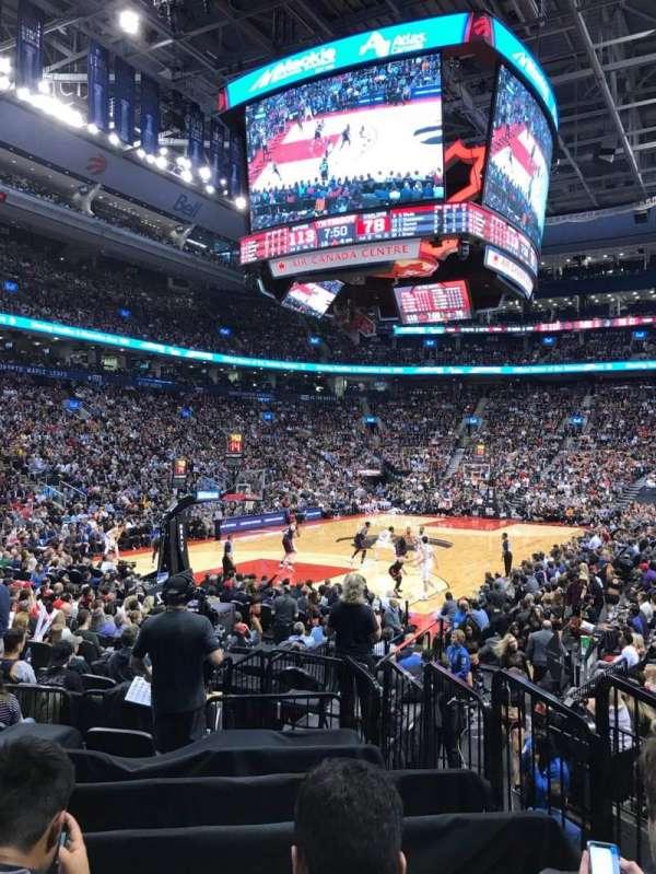 Scotiabank Arena, secção: 112, fila: 12, lugar: 4